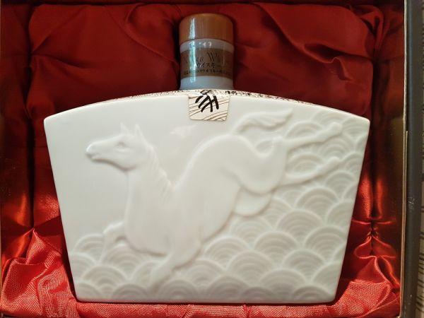 Nikka Horse Zodiac Blended Whisky 1990 in Originalverpackung