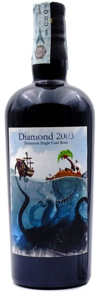 Demerara Diamond 14 Jahre Single Cask 2003/2017 Milano Rum Festival