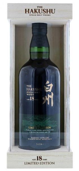 Hakushu 18 Limited Edition Single Malt Whisky