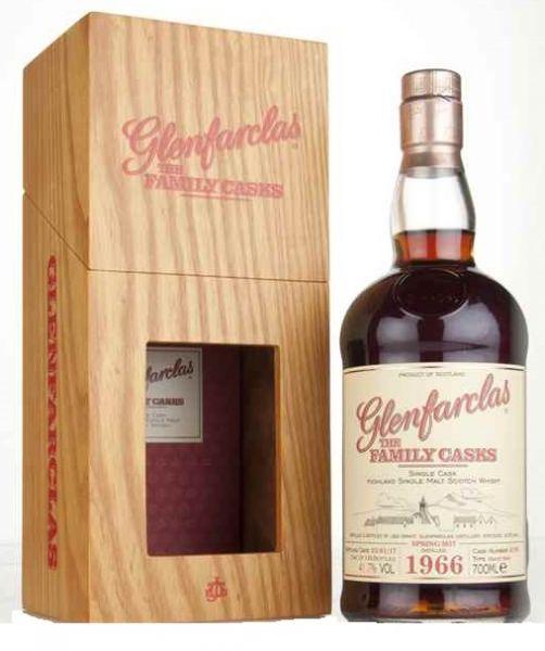 Glenfarclas 1966 Family Cask 4199 - Bottled 2017
