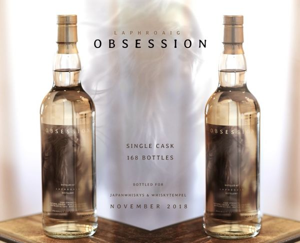 Laphroaig OBSESSION Cask Strength - Single Cask 52,4%