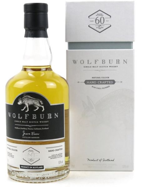 Wolfburn A Little Something Different 60th Anniversary