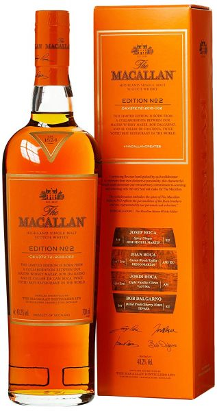 Macallan Edition No. 2 Single Malt Whisky