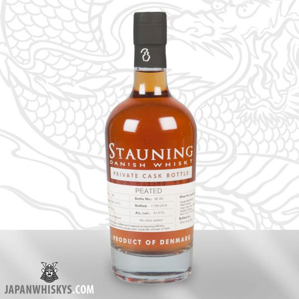 STAUNING Private Cask 286 Peated 61,61 % nur 82 Flaschen