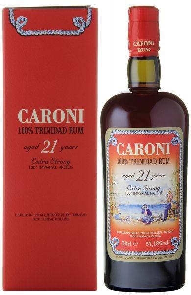 Caroni 21 Jahre 100% Trinidad Rum Velier
