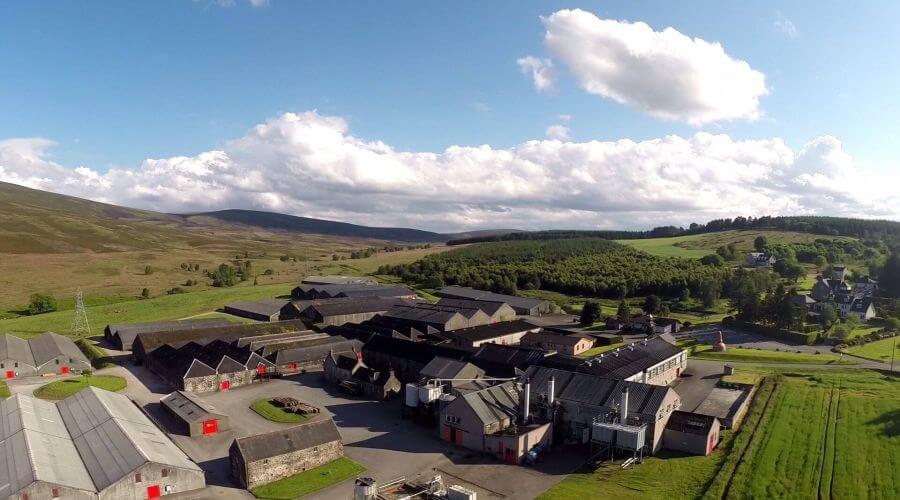 Foto Glenfarclas Destillerie