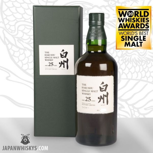 Suntory Hakushu 25 Jahre Single Malt Whisky