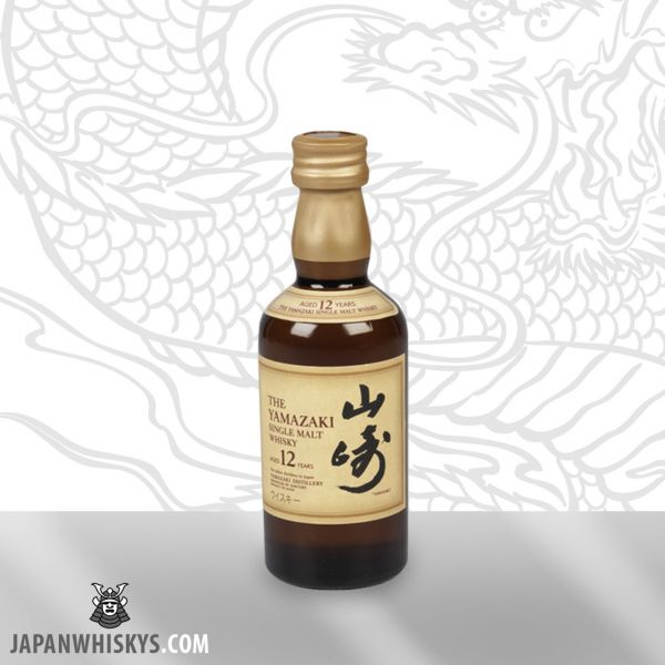 Suntory Yamazaki 12 Jahre Single Malt Miniatur 50ml 43%