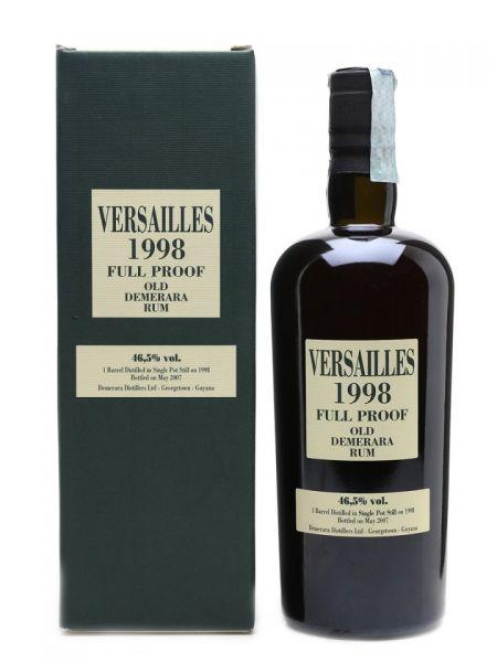 Versailles 1998 Single Cask Demerara Rum