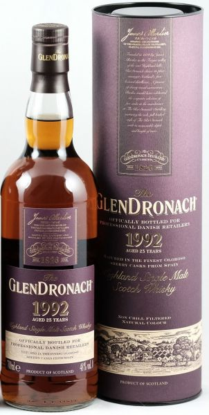 Glendronach 1992 Limited Edition Only for Dänemark