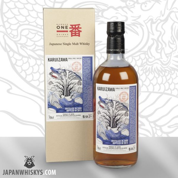Karuizawa 2000 Sea Dragon Cask 166 Sherry Butt