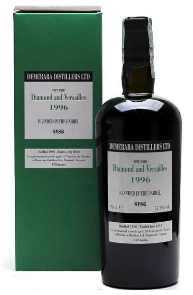 Demerara Distillers Rum Diamond and Versailles 1996