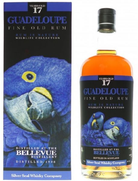 Bellevue Guadeloupe Rum 17 Silver Seal