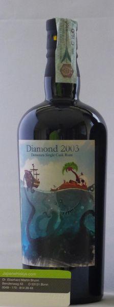 Demerara Diamond 14 Jahre Single Cask 2003/2017 Milano Rum Festival