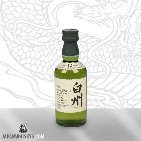 Suntory Hakushu 12 Jahre Single Malt Miniatur 50ml 43%