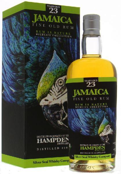 Hampden Jamaica Rum 23 Silver Seal
