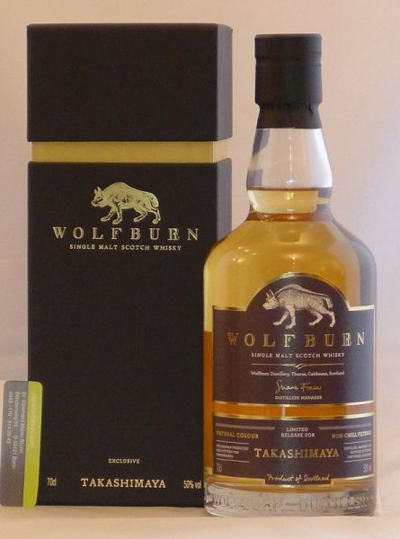 Wolfburn Single Malt Whisky Exklusiv Takashimaya Japan
