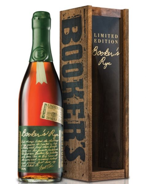 "BOOKER'S RYE 13 YEAR OLD, 68.1% Jim Murray`s ""World Whisky of the Year 2017"""