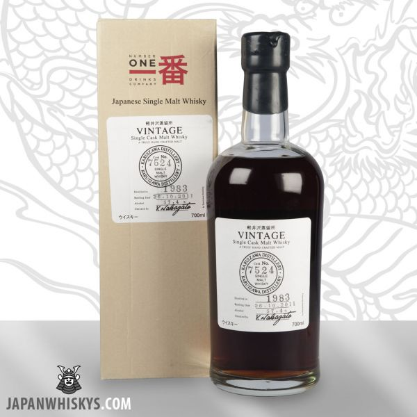 KARUIZAWA 1983 Single Malt Whisky Cask 7524