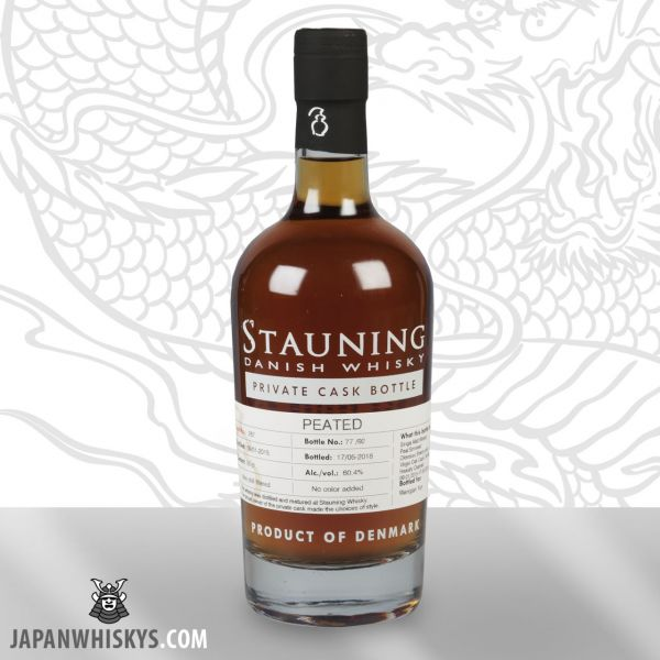 STAUNING Private Cask 287 Peated Oloroso nur 92 Flaschen