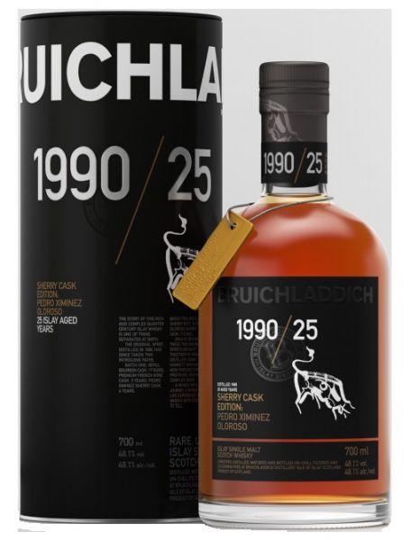 Bruichladdich 1990/25 Sherry Cask Edition