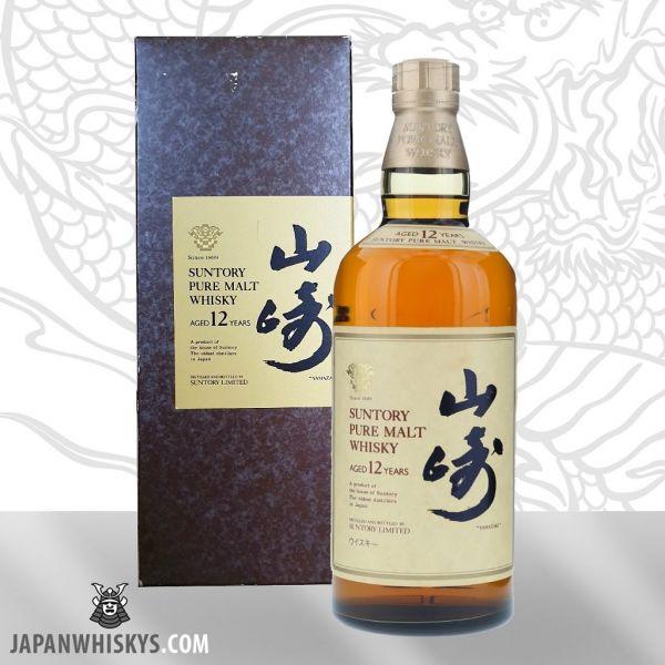 """Suntory Yamazaki 12 Pure Malt Whisky alte Abfüllung """"RAR"""""""