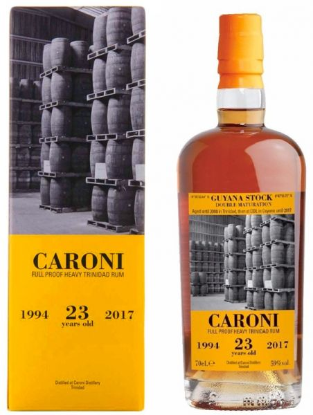CARONI 23 Jahre 1994 / 2017 Full Proof Velier 59%