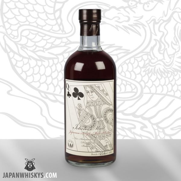 Hanyu Card Serie 1988 Queen of Clubs Single Malt Whisky