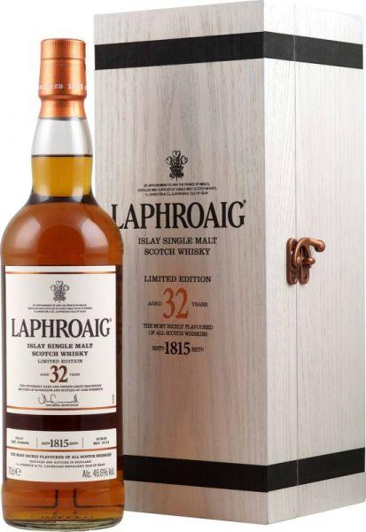 Laphroaig 32 Jahre Single Malt Whisky