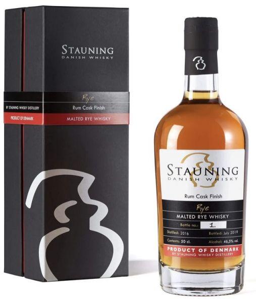 Stauning Rye Rum Cask Finish - July 2019
