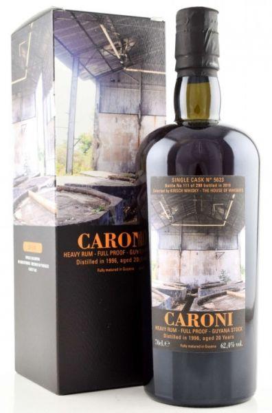 CARONI 20 Jahre 1996 / 2016 Single Cask nur 298 Flaschen