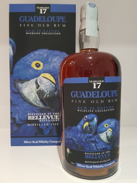 Bellevue Guadeloupe 17 years Magnum silver seal