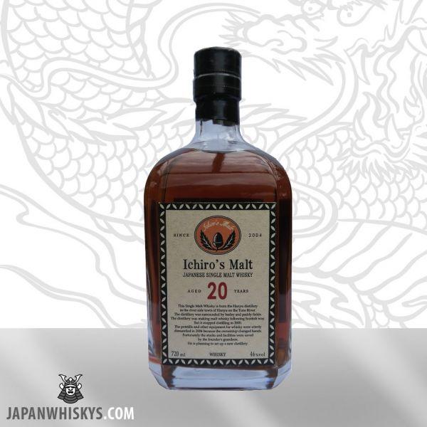Hanyu 20 Year Square Bottle very rare