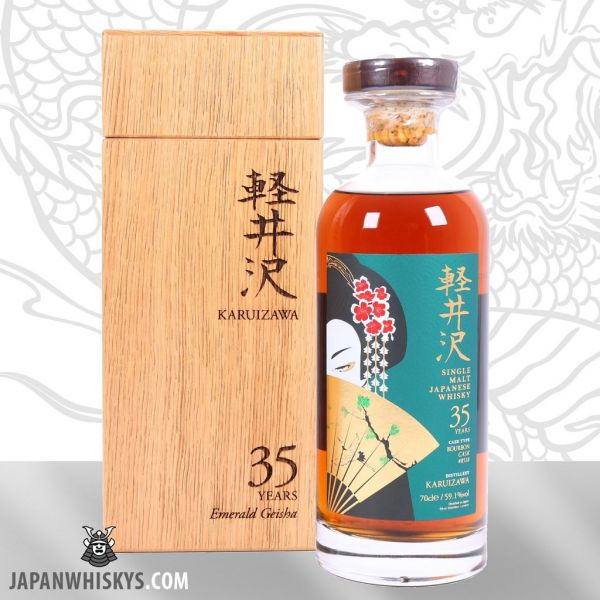 Karuizawa Emerald Geisha 35 Year Old Bourbon Cask #8518