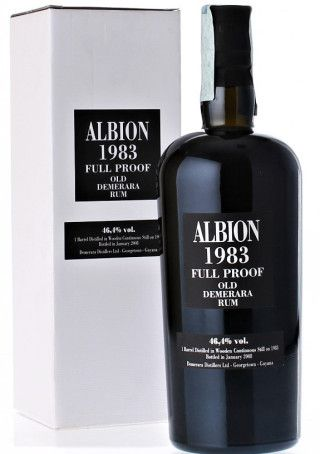 Albion 1983 Full Proof Demerara Rum - Velier