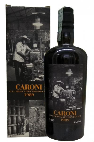 Caroni 1989 Full Proof Light Trinidad Rum - Velier