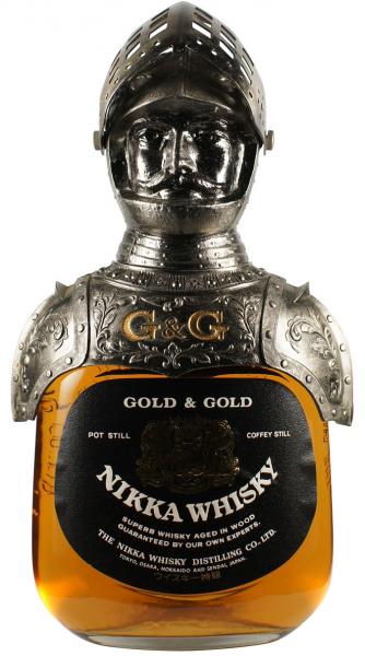Nikka Gold & Gold Whisky Ritter