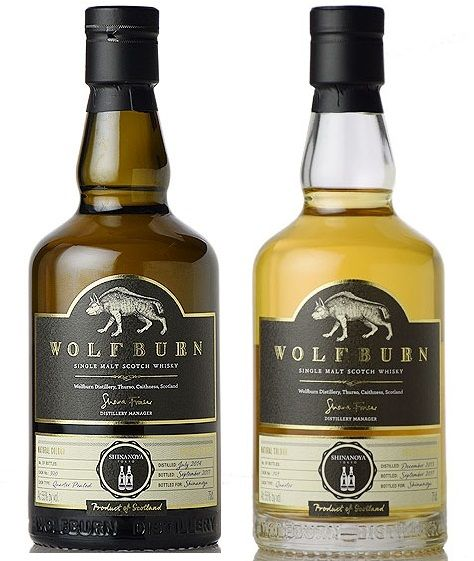 Wolfburn only Japan Shinanoya Cask 791 und Cask 390