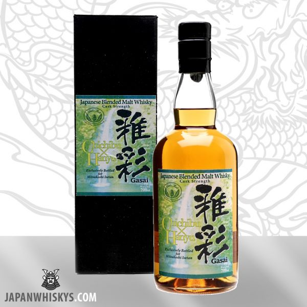 HANYU / CHICHIBU - Gasai - Limited Edition - 212 Bottles - Cask Strenght 59,0%