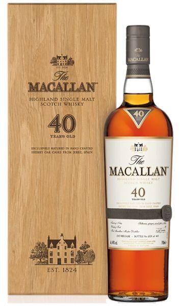 Macallan Sherry Oak 40 Jahre Release 2017