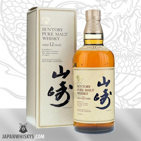 Yamazaki 12 Pure Malt Whisky alte Version