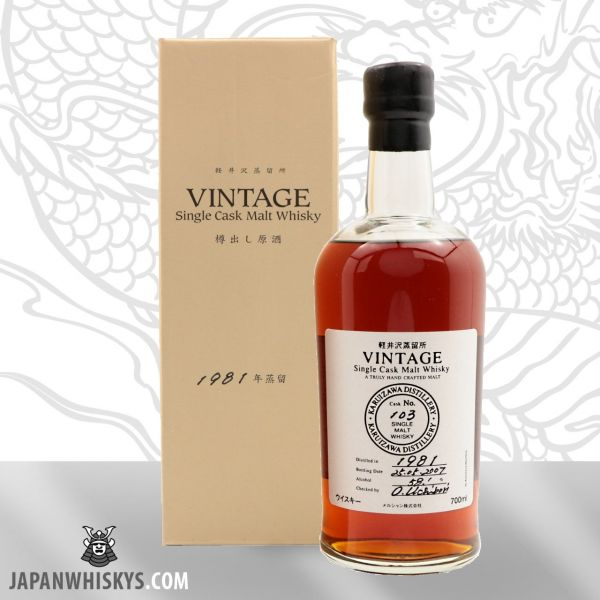 Karuizawa Vintage 1981 Cask #103 Single Cask Malt Whisky